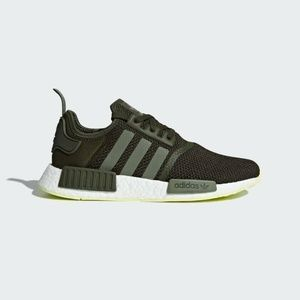 adidas NMD R1 Night Cargo Base Green Mens Shoes
